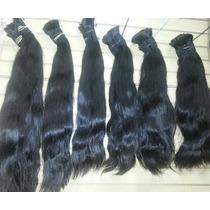 Aplique-cabelo Humano-indiano-megahair-liso -50/55cm- 100gr