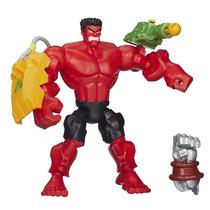Boneco Marvel Super Hero Mashers Red Hulk A8902 Hasbro