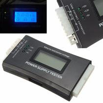 Testador Fonte Alimentação Atx Visor Lcd 20 E 24 Pinos