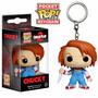 Chaveiro Chucky, O Brinquedo Assassino - Pocket Pop! Funko