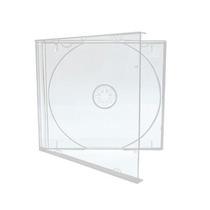 10 Capa Caixinha Acrilica Cd Box Tradicional - Modelo Normal