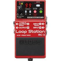 Pedal Boss Rc3 Loop Station Na Cheiro De Música Loja