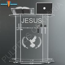 Púlpito Em Acrílico Pp01