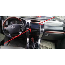 Moldura Central Painel Radio Som Toyota Land Cruiser Prado