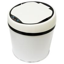 Lixeira Automática Westing 6 Litros Aço Inox Branco Sensor