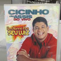 Dvd Cissinho De Assis Um Forró Pra Seu Luiz Part Waldonys