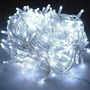 Pisca De Natal 100 Led Branco Natalino 9 Metros 8 Funções