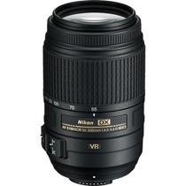Lente Nikon Af-s 55-300mm F/4.5-5.6g Ed Vr + Nota Fiscal