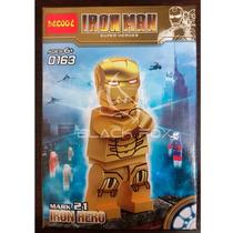 Iron Man Mark 21 Homem De Ferro Decool Compatível Com Lego