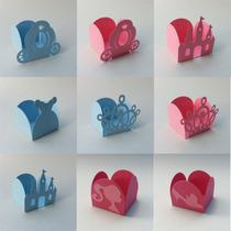 Forminhas Princesa Castelo Coroa Carruagem Sapatinho Festa