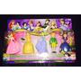 Kit Princesas Disney Ariel Sofia Cinderela Bela E Principe