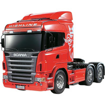 Rc Tamiya Truck Super Combo Scania R620 6x4 - 1/14 Completo!