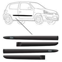 Jogo Friso Lateral Renault Clio 2 E 4 Portas Personalizado