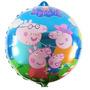 Balão Metalizado Peppa E Patati - Pronta Entrega 10 Balões