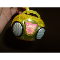 Rádio De Brinquedo Rouge C&a - Raro - Único No Mercado Livre