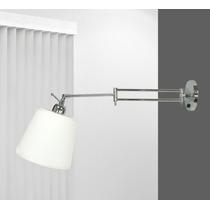 Arandela Articulada Lustre Sala - Luminária Quarto - Parede