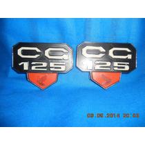 Emblema Da Cg 125 Antiga Produto Novo De Plástico