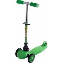 Patinete Infantil Tech 3 Rodas Belfix - Verde/azul/preto