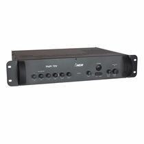 Amplificador De Som Ambiente Profissional Pwm70v Com Gongo