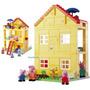 Peppa Pig Casinha De Montar 107 Peças Casa - Tipo Lego Duplo