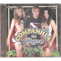 Cd Cia Do Calypso Vol.03 Ao Vivo Original + Frete Grátis