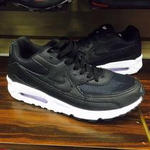 Tenis Nike Air Max 90 Preto Black Cano Alto