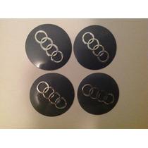 Emblema Audi 55 Mm Para Rodas Esportivas