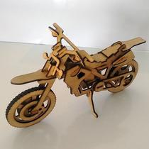 Quebra Cabeça 3d - Coleção Motos - Motocross