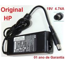 Fonte Original P/ Notebook Hp Pavilion Dv4 Dv5 19v 4.74a