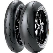 Jogo Pneu Moto120/70r17+190/55r17 Pirelli Diablo Super Corsa