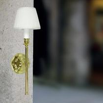 Arandela Para Sala Dourada - Luminária Quarto - Parede