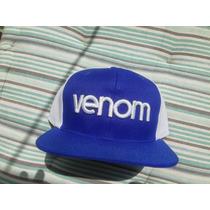 Boné Venom Azul E Branco ( Element, Dc , Hurley, Volcom)