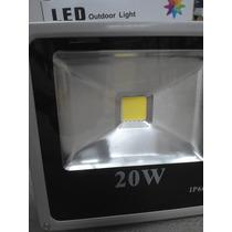 Refletor Led 20w Luz Verde