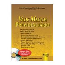 Livro Vade Mecum Previdenciário - Acompanha Cd-rom - 14ª Edi
