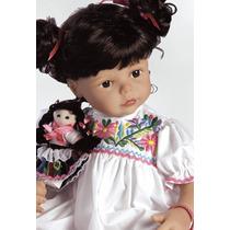 Promoção Boneca Silicone-flex Maria Tipo Reborn E Adora Doll