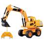 Escavadeira Trator Construforce C/ Controle Remoto Munditoys