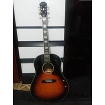 Violão Epiphone Ej160e + Tarraxas Gibson Deluxe + Case Gator
