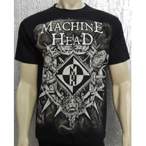 Camiseta De Banda - Machine Head - Bloodstone & Diamonds