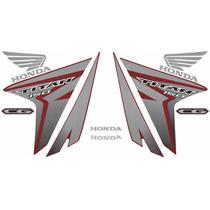 Kit Adesivos Honda Cg Titan 150 Esd Ex 2014 Vermelha