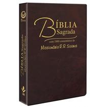 Bíblia Sagrada - Com Comentários Do Missionário Rr Soares