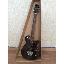 Guitarra Groovin Glp300f Preto (saldão) Atacado Musical