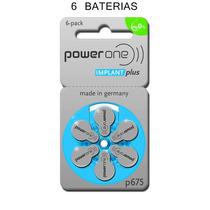 Baterias P675 Aparelho Implante Coclear Powerone Implantplus