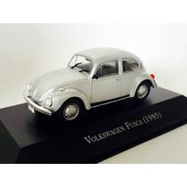 Miniatura Carro Volkswagen Fusca 1985 Prata 1:43 Ixo 130175