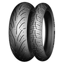 Par Pneus Michelin Road 4 120+170 Bandit Gsx650f Xj6 Cb500