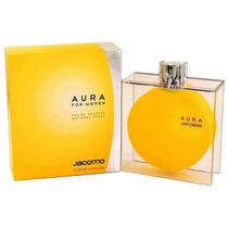 Perfume Francês Feminino Aura For Women By Jacomo 75ml Novo!