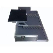 Hard Case Cdj Mixer C/ Plataforma De Notebook Retratil