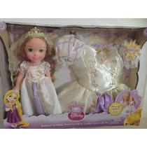 Boneca My First Disney Rapunzel Noiva Com Fantasia 2 A 4 Ano
