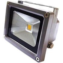 Refletor De Led 10w Holofote Branco Quente Bivolt
