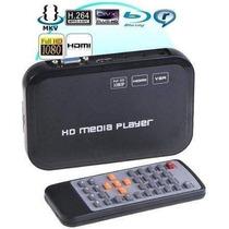 Full Hd Media Player Com Hdmi / Rmvb Divx Mkv 3d