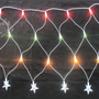 Rede 144 Led 110v 3mx0,35cm Natal 8 Funções Colorido